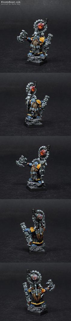 Dwarf Grimm Burloksson painted by Rafal Maj (BloodyBeast.com)
