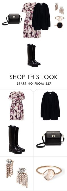 """Untitled #749"" by elenekhurtsilava ❤ liked on Polyvore featuring Oh My Love, Acne Studios, Ann Demeulemeester, BaubleBar, Parisi, Ginette NY, cutecardigan and springlayers"
