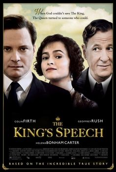 Colin Firth, Helena Bonham Carter, Geoffrey Rush