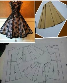 Diy Ropa Mujer Fashion Ideas Ideas For 2019 Sewing Art Sewing Tools Sewing Tutorials Sewing Hacks Sewing Patterns Sewing Projects Sewing Techniques Techniques Couture Learn To Sew Dress pattern cut out Great swing dress DIY - would add a curve to the bodi Sewing Clothes Women, Diy Clothes, Clothes For Women, Dress Clothes, Skirt Patterns Sewing, Clothing Patterns, Clothing Ideas, Circle Skirt Pattern, Kleidung Design