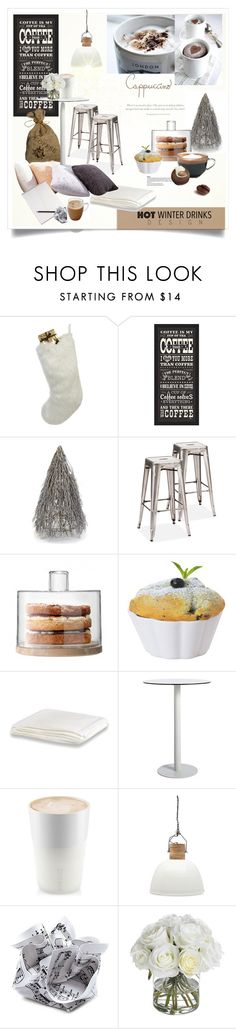 """Hot Winter Drinks"" by rever-de-paris ❤ liked on Polyvore featuring interior, interiors, interior design, home, home decor, interior decorating, Helen Moore, Made of Me, PTM Images and Shea's Wildflower"