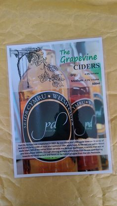 POS flyers for The Grapevine.