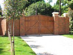 Suffolk Wooden Entrance Gates