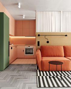 Mondrian, White Furniture, Furniture Design, Interior Styling, Interior Design, Luxury Chairs, Retro Home, Wall Colors, Colorful Interiors