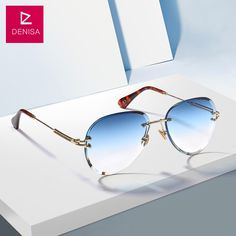 Cheap Sunglasses, Buy Directly from China Suppliers:DENISA Fashion Blue Red Aviation Sunglasses Women Men Driving Sun Glasses Clear Vintage Glasses zonnebril dames
