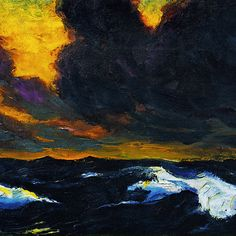 Emil Nolde, one of my favourites.