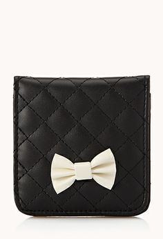 Quilted Faux Leather Hand Mirror | FOREVER21 - 1000050994