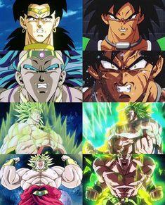 Compare and contrast Broly Manga Anime, Anime One, Gorillaz, Broly Ssj4, Dragon Pictures, Z Arts, Dragon Ball Gt, Son Goku, Cartoon Art