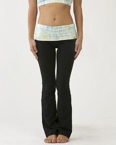 Tie-Dye Print Flare Pants (Long) / moani yoga / yoga bottoms
