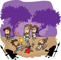 Jesus about to be arrested 3 by pocza.deviantart.com
