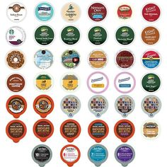 Coffee Variety Sampler Pack for Keurig K-Cup Brewers,  40 Count ** Wow! I love this. Check it out now!   K Cups