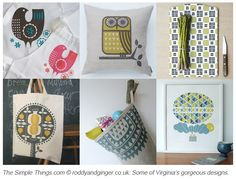 We love Roddy & Ginger's fabrics, wallpaper and prints – read our Q and A with founder Virginia Armstrong AND bag yourself a 10% discount in their online shop! Click the pic...
