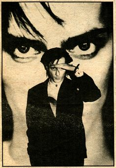 Peter Murphy 80's   the poster on my wall as a kid!!!