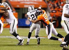 The Broncos STUFFED the run vs. Raiders Monday night. Shots of the Game Monday Sep 23, 2013