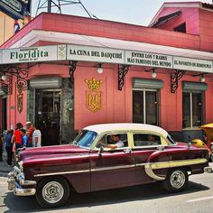 El Floridita Bar, Havana, Cuba — by Cindy Baker. This is the place to go in Havana for a world famous daiquiri. It's where Ernest Hemingway used to drink them, while...