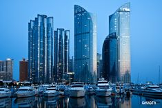 Gorgeous Port City of Pusan, Korea