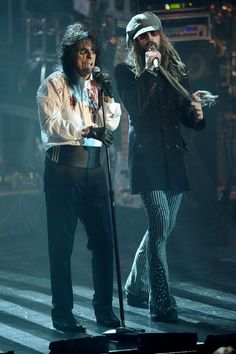 Alice Cooper and Rob Zombie
