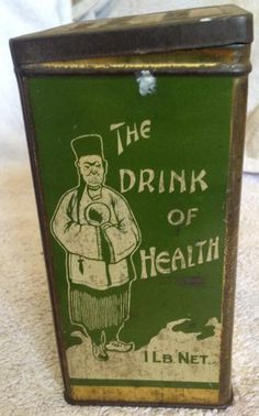 1920s The Doctor's China Tea tin