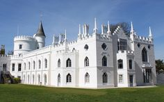 Strawberry Hill was the 18th century home of Horace Wolpole, 4th Earl of Orford and youngest son of Prime Minister Walpole. He was an art historian and member of Parliament who is credited with reviving Gothic architecture with this beautiful home that is located in Twickenham, south-west London.
