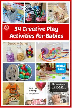 creative play activities for babies