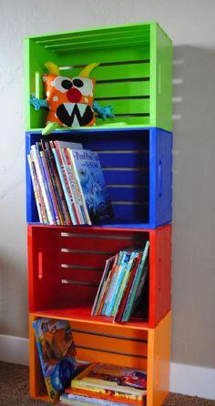 decorar con cajas de madera 24