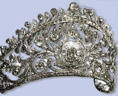Diadem of the Grand Duchess Elena Vladimirovna of Russia, wife of Prince Nicolas of Greece