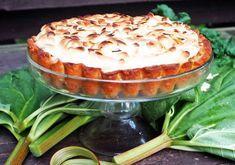 Raparperipiirakka x 4 - Himahella Goodies, Pudding, Baking, Desserts, Food, Pai, Sweet Like Candy, Tailgate Desserts, Deserts