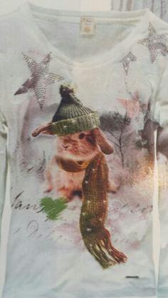 T.shirt rabbit.www.awg-mode.de