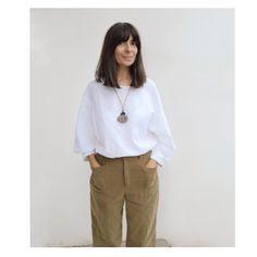 Nati | Cursos de Costura ❤️ sur Instagram: Pues hoy la #momireseña es de la blusa #sawilmawoventop de @stylearc. Que he cosido en un #linoorganico 💘 de @lanasalpaca que podéis…