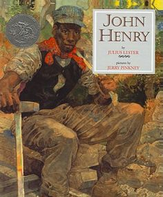 I love using this version of John Henry's story.  The language is so much fun and the kids really enjoy it.  They love pointing out the exaggerations and use of figurative language.