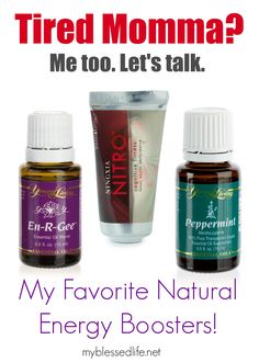 Amazing Natural Energy Boosters | MyBlessedLife.net. Join me as I work to correct my family's health with the use of God's medicine through Young Living Essential oils.  Independent Distributor # 1513752.  Come see me on Facebook for additional information & classes - https://www.facebook.com/BlessingsfromEssentialOils.