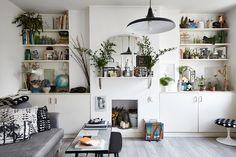 Un appartement à l'esprit bohème-scandinave | Madame Décore