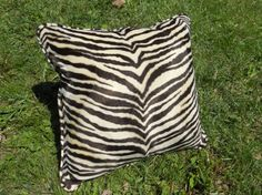 Check out this item in my Etsy shop https://www.etsy.com/listing/235723703/zebra-print-pillow