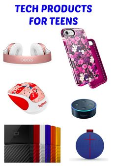"""""""Tech products, best tech products for teens, gifts for teens"""""""