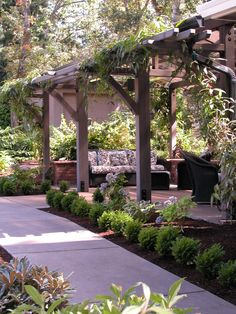 Pergola Patio, Pergola Plans, Backyard Landscaping, Backyard Ideas, Pergola Kits, Pergola Ideas, Cheap Pergola, Patio Roof, Patio Ideas