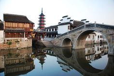 Ancient Chinese Architecture and Historical Towns China Ancient Chinese Architecture, China Architecture, Gothic Architecture, Travel Around The World, Around The Worlds, Living In China, Chinese Garden, China Travel, China Trip