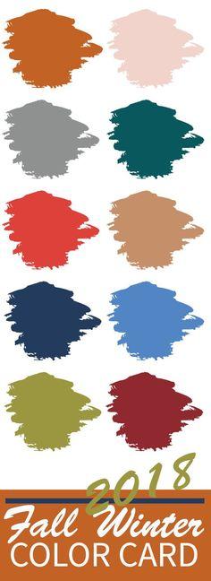Descubre los colores tendencia de esta nueva temporada.