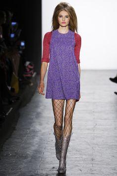 Jeremy Scott Fall 2016 Ready-to-Wear Fashion Show - Sanne Vloet