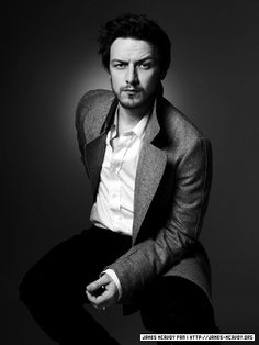 James McAvoy. I just want him to talk to me in that lovely Scottish accent all day.