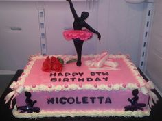 Ballerina cake turned out wonderful.