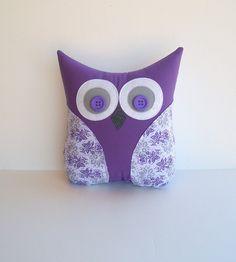 purple owl nursery - Google Search  pillow