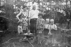Poland, A family photo of the family of the aunt of the submitter Mildred Steinberg before the war.  Belongs to collection: Yad Vashem Photo Archive