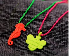Neon Fashion Bee Necklace from LilyFair Jewelry, $9.99!