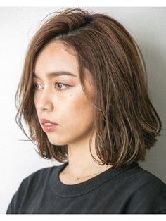 20代30代40代ネオウルフデジタルパーマ毛先パーマ 担当畑 New Haircuts, Hair Cuts, Hairstyle, Long Hair Styles, Makeup, Beauty, Hairdos, Hair, Haircuts