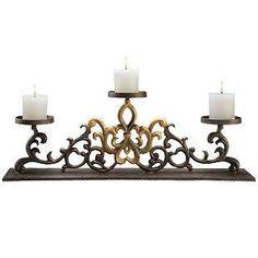 Brighton Fireplace Candelabra | Fireplace Candelabras | Candle ...