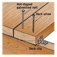 Building Your Deck