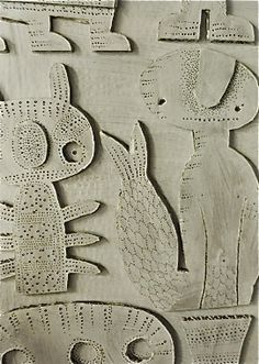 Steen Drabik, Cut out paper works