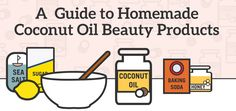 A Guide To DIY Coconut Oil Beauty Products (Infographic)