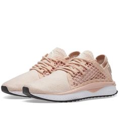 PUMA s Tsugi Netfit Evoknit sneakers represent a new era of footwear  styling. With a NETFIT 0fe4965ad