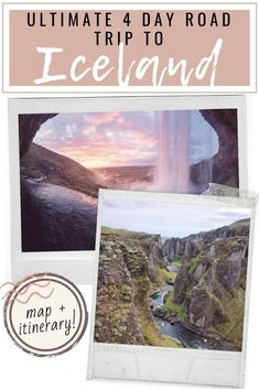 How to spend 4 days road tripping through Iceland. You'll discover waterfalls, geysers, black sand beaches, and the blue lagoon! #Iceland #IcelandTravel #IcelandPhotography #IcelandRoadtrip #IcelandTips | Iceland Road Trip | Iceland Itinerary | Iceland Road Trip Map | Iceland Travel | Iceland Road Trip Photography | Iceland Guide | Iceland Things to do | Iceland Places to Go | Iceland Travel Tips | Iceland Travel Tips, Iceland Road Trip, Map Iceland, Road Trip Photography, Gullfoss Waterfall, Road Trip Map, Thingvellir National Park, Iceland Waterfalls, Beach Day